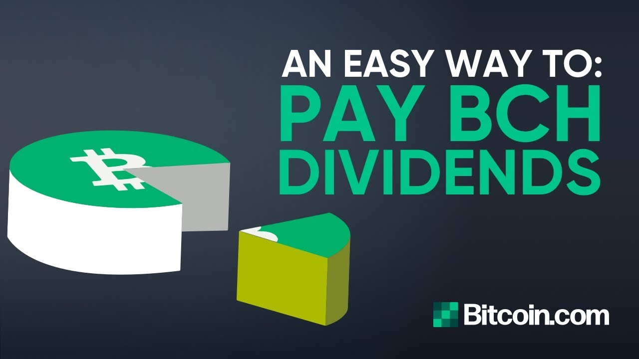 Tutorial: How to pay Bitcoin Cash Dividends - by Roger Ver