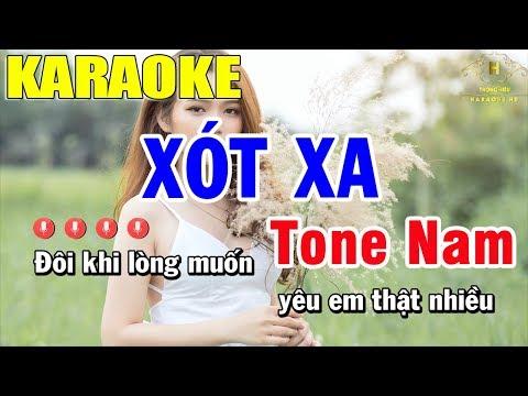 karaoke-xót-xa-tone-nhạc-sống-|-trọng-hiếu