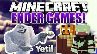 RACHE! Yeti mit Paluten - Minecraft ENDER GAMES SERIE #19 | ungespielt