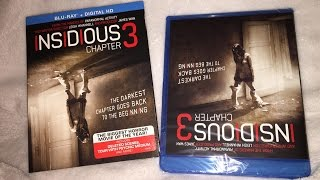 Insidious: Chapter 3 Blu-ray Unboxing - Horror - 2015 - Leigh Whannel / James Wan