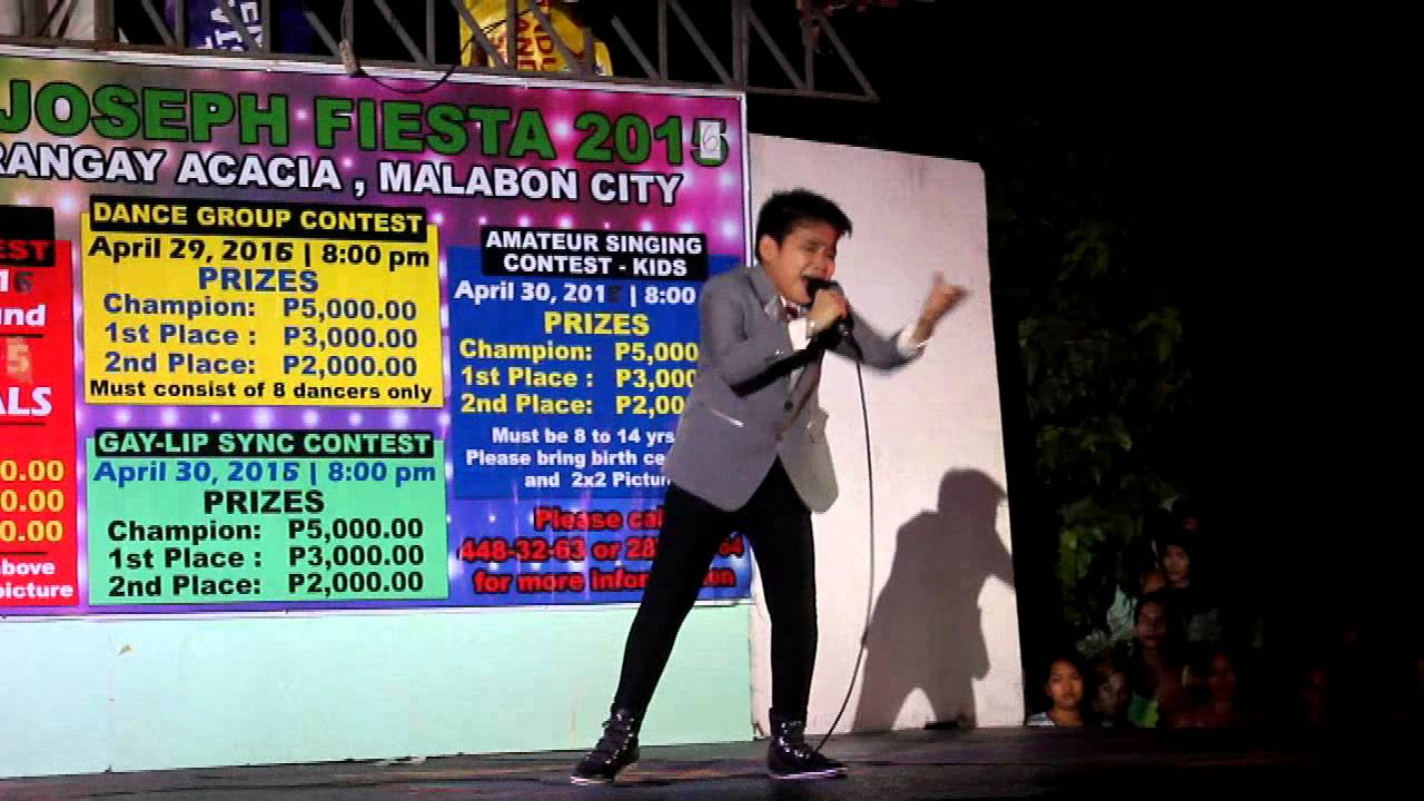 jc tan grand champion sings hanggang brgy acacia singing contest
