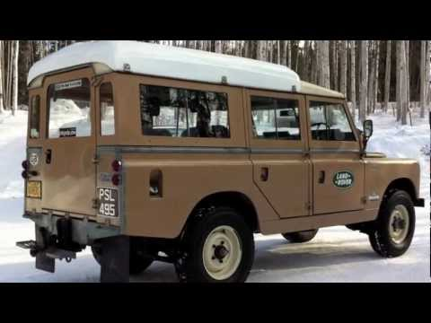 land rover 109 youtube. Black Bedroom Furniture Sets. Home Design Ideas