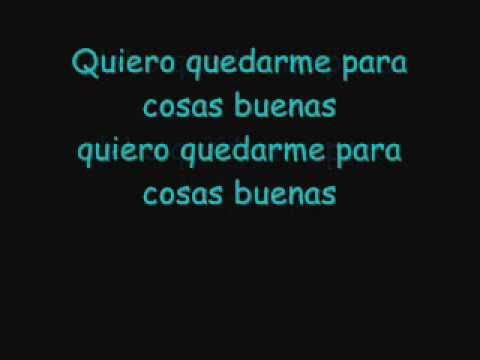 Erreway - Para cosas buenas [lyrics]