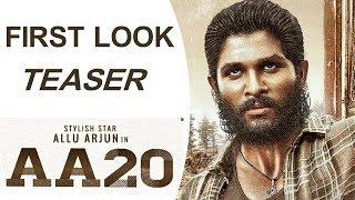 Allu Arjun And Sukumar New Movie AA20 Teaser | Cinema Topic