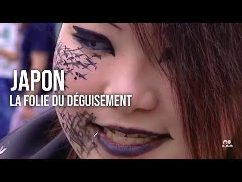 Japon : la folie du déguisement !