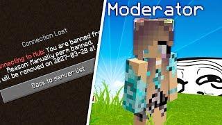 SERVER MOD GETS BANNED FROM HER SERVER! (Trolling Server Mods)