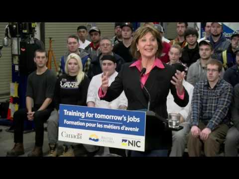 Premier's Speach at Campbell River Campus Announcement