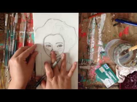 Painting Video for Gallery Nouveau