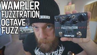 Wampler Fuzztration Octave Fuzz - Demo