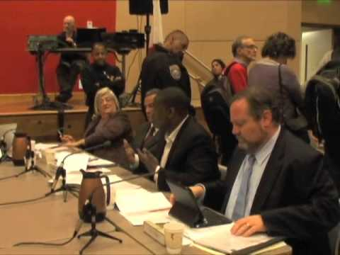 CCSF Students/Worker Occupy Trustees Meeting To Protest Special Trustee Appointment