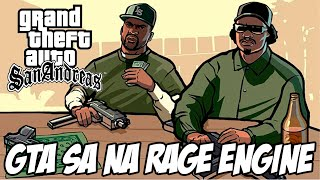 GTA San Andreas TOTALMENTE RECONSTRUIDO na RAGE engine do GTA IV e GTA V