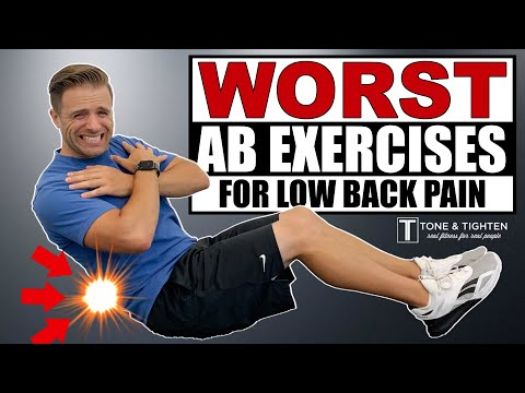 WORST Ab Exercises For Back Pain TRY THIS INSTEAD!