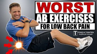 WORST Ab Exercises For Back Pain - TRY THIS INSTEAD! screenshot 4