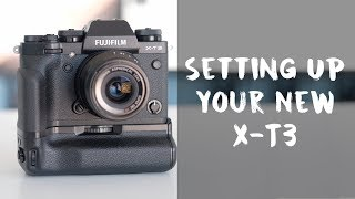 Wedding Photography: Setting Up Your Fujifilm Xt3