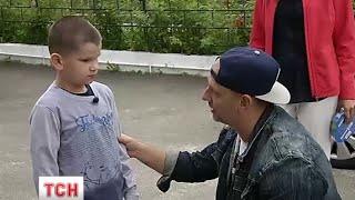 В рамках проекту 'Здійсни мрію' Максим Чернов зустрівся з репером Потапом