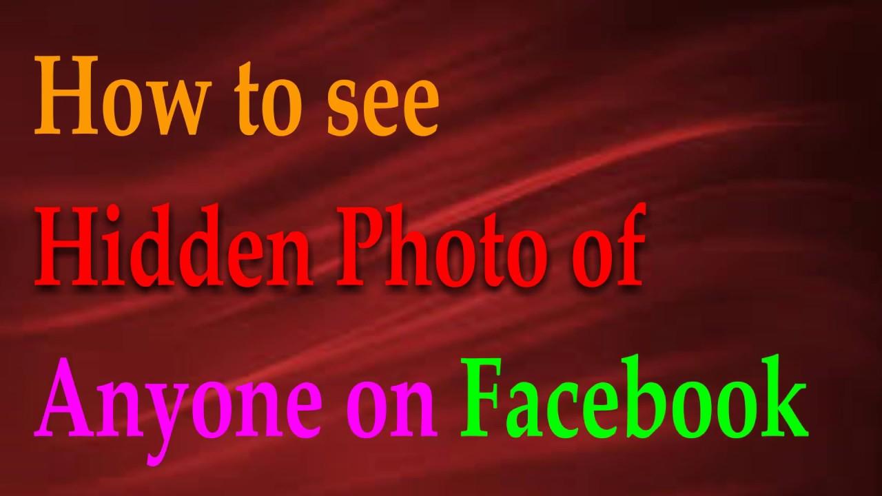 how to find hidden facebook profiles
