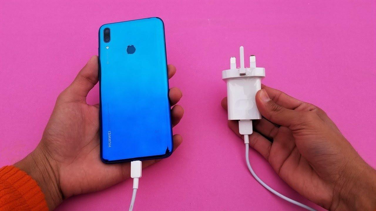 Huawei Y7 Prime (2019) - Battery Charging Test - (HD)