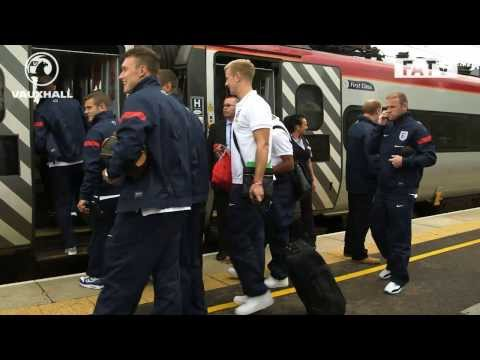 England Behind The Scenes: The team travel from St. George's Park