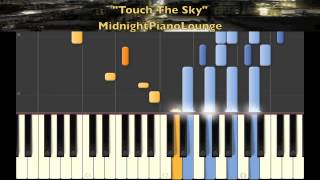 ♫ Touch The Sky by Kanye West Piano Tutorial In E Minor ♫
