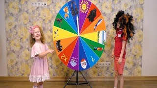 Magic Spin WHEEL and Funny Kids Playing with Elya TV