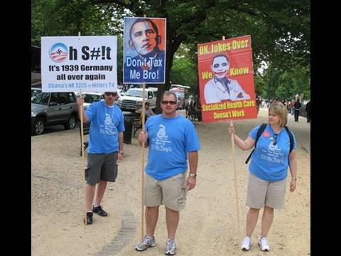 Tea Party Idiots Exposed By Boston Globe!