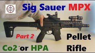 Video Sig Sauer MPX (Semi Auto) Air Rifle Review (Full Metal M4 Replica) .177 cal Pellet Gun download MP3, 3GP, MP4, WEBM, AVI, FLV Agustus 2018