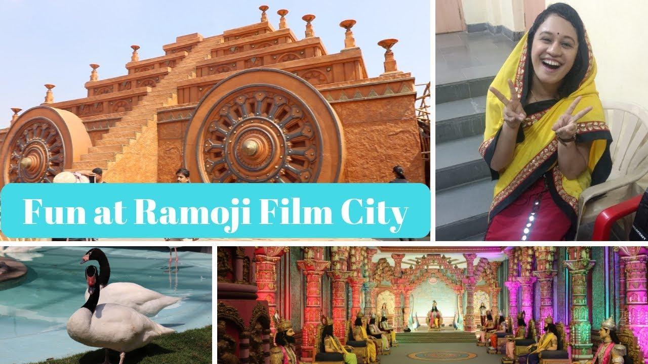 Ramoji Film City Playing A Heroine Bahubali Set Hyderabad Day 7