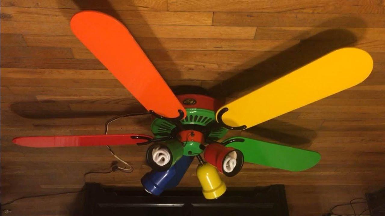 how to make rainbow fan