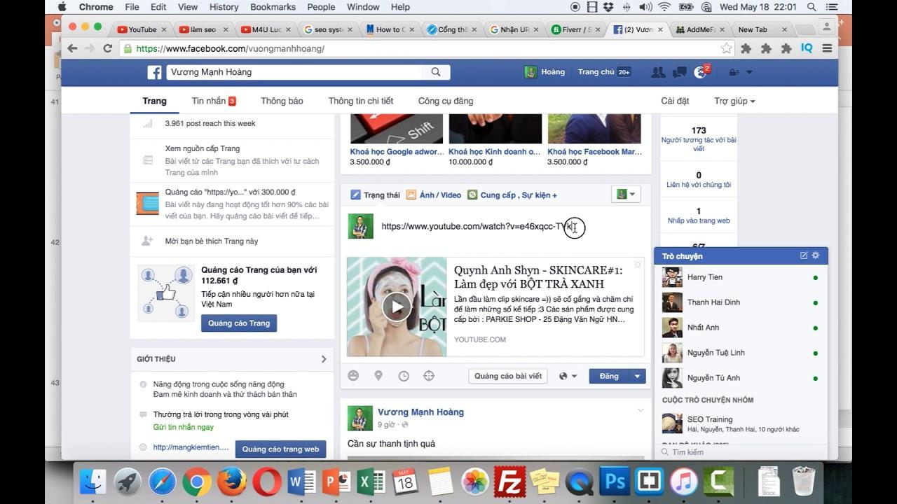 Bài Giảng 28:  Cách sử dụng Facebook để quản cáo