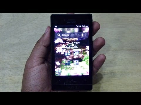 Sony XPERIA MIRO UNBOXING & HANDS ON REVIEW HD by Gadgets Portal