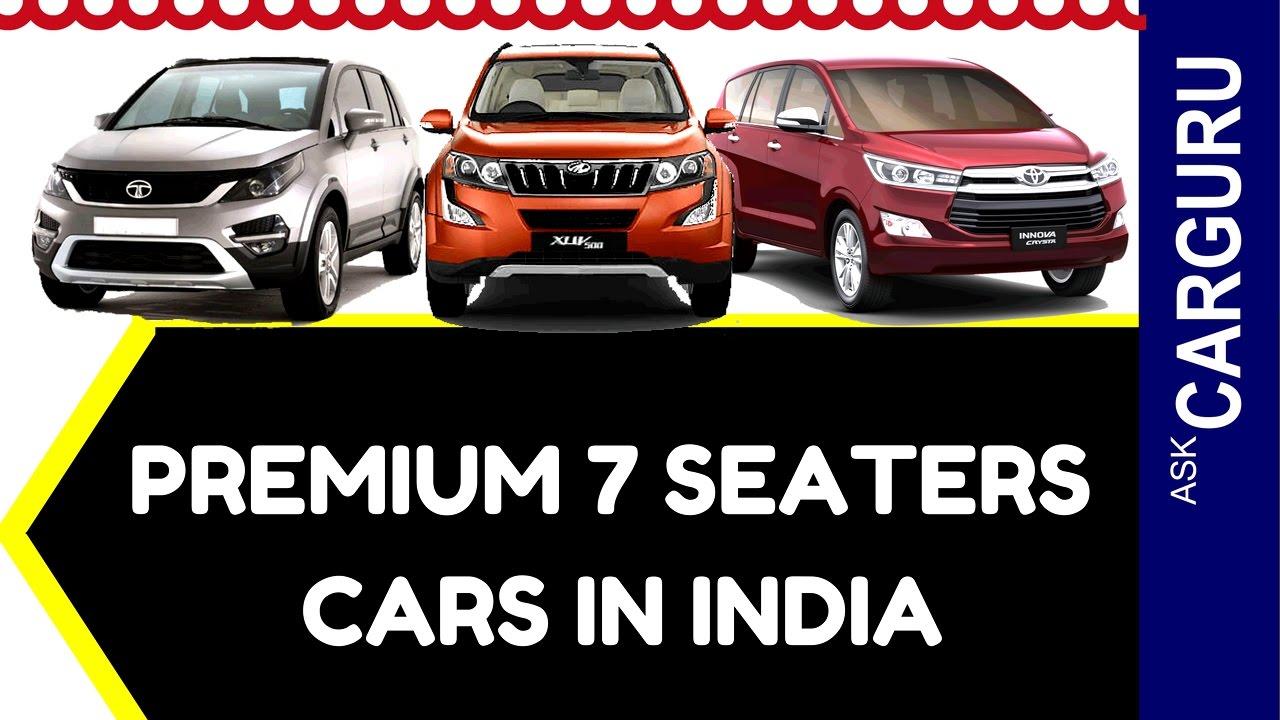 Premium 7 Seater Cars in India, CARGURU, हिन्दी में ...