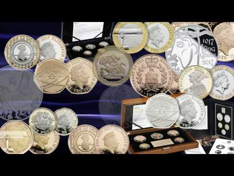 2017 Commemorative Coins from the Royal Mint