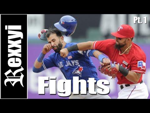 MLB | Fights 2016 Pt1