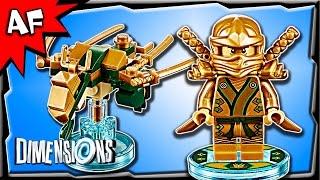 Lego Dimensions Ninjago LLOYD Golden Ninja & Dragon Fun Pack 3-in-1 Build Review 71239