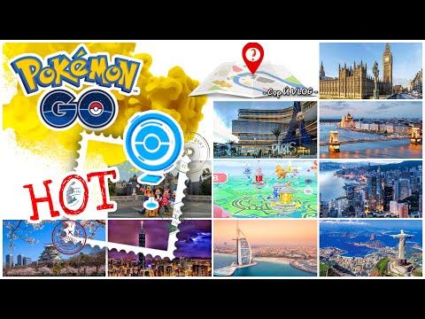 ✈✨Gợi ý các địa điểm nhiều GYM & Pokéstop trong Pokémon Go | Hot Spots | Cọp Ú VLOG