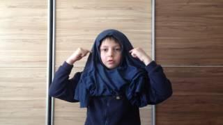 Как сделать маску ниндзя своими руками быстро