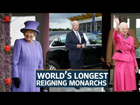 World's longest reigning monarchs