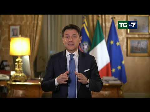Coronavirus, l'appello di Giuseppe Conte: 'L'Italia è forte e non si arrende'