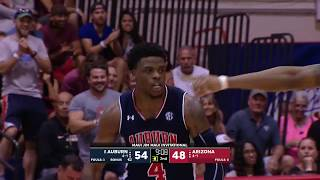 Auburn Basketball vs Arizona Highlights
