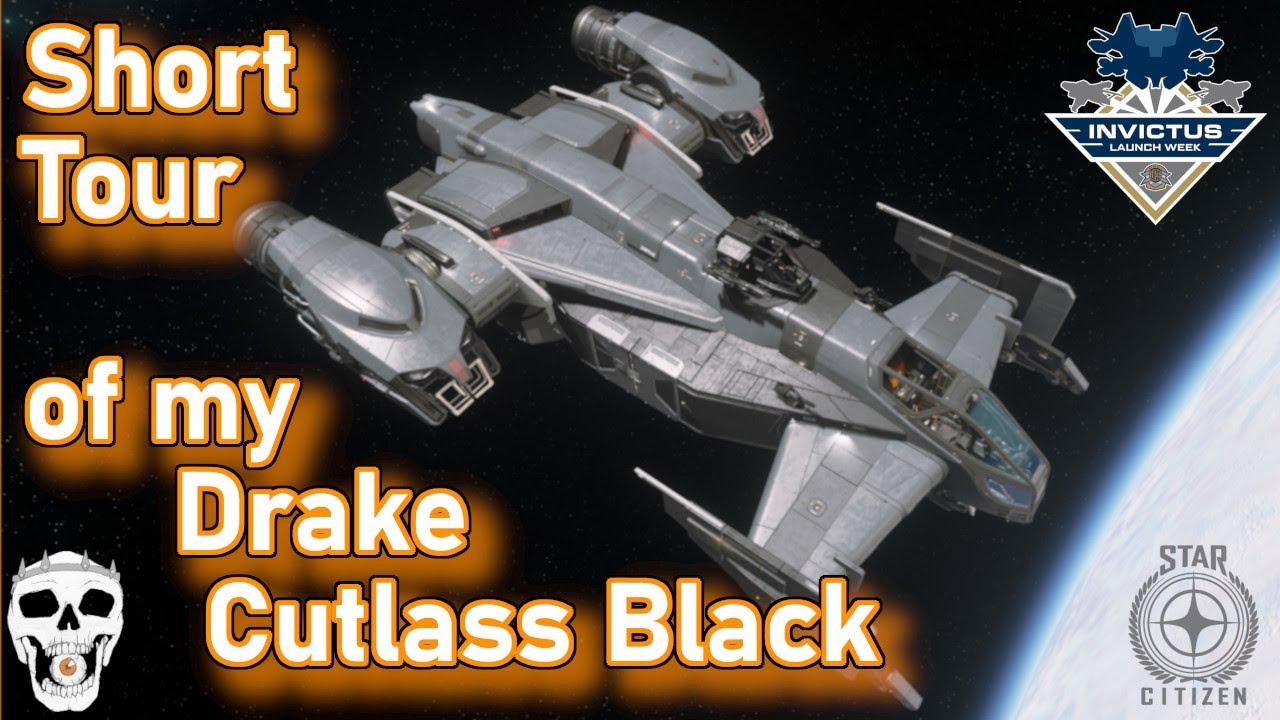 Download Quick Tour of my Drake Cutlass Black - Alpha 3.13.1 - Star Citizen