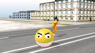 Pacman vs Dragonball battlen animation 3D