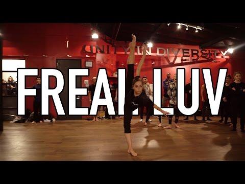 'Far East Movement - Freal Luv #FrealLuv' - Choreography by @nikakljun