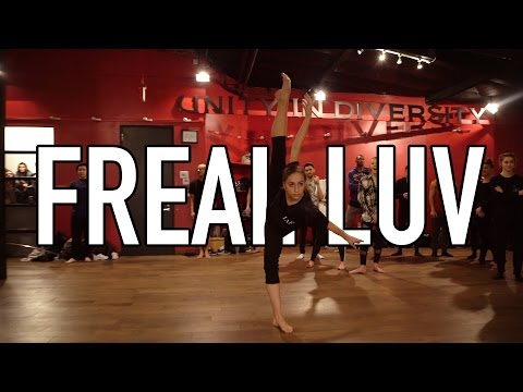 Thumbnail: 'Far East Movement - Freal Luv #FrealLuv' - Choreography by @nikakljun