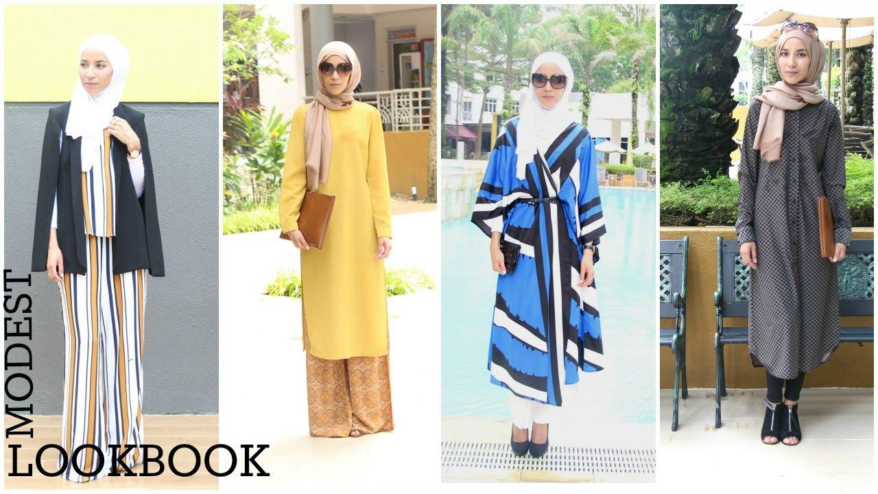 Favori Hijab summer lookbook Chic - YouTube DE16