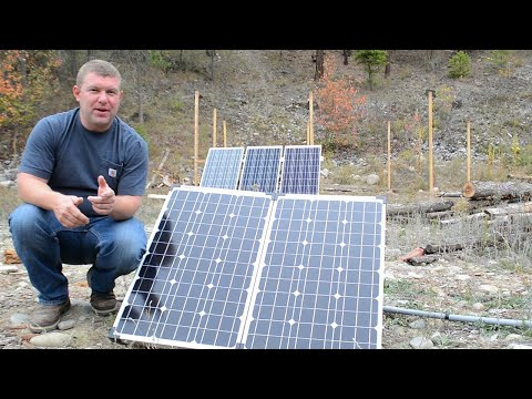 Portable Solar Update: Success or Failure? + New System Test Drive (Off Grid, RV & Boondocking)