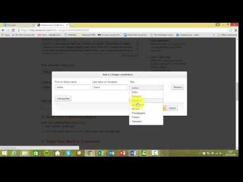 How to publish your book on Amazon Kindle Direct Publishing platform
