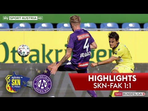 tipico Bundesliga, 24. Runde: SKN St. Pölten - FK Austria Wien 1:1