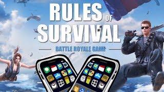 ИГРА С ПОДПИСЧИКАМИ - RULES OF SURVIVAL - iOS / ANDROID
