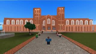 UCLA Royce Hall in Roblox