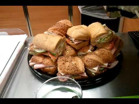 $19.99 Subway Party Platter